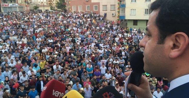 Yasaklanan HDP Diyarbakır mitingi gerçekleşti