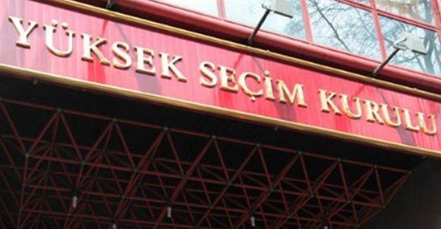 YSK'dan MHP kurultayı kararı