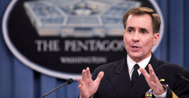 ABD: Musul operasyonuna kimin katılacağına Irak hükümeti karar verecek