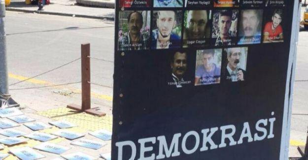 Ankara'da saldırıya uğrayan 10 Ekim anıtı onarıldı