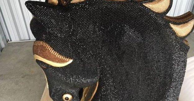 At başı heykelinde 10 milyon dolar değerinde kokain ele geçirildi