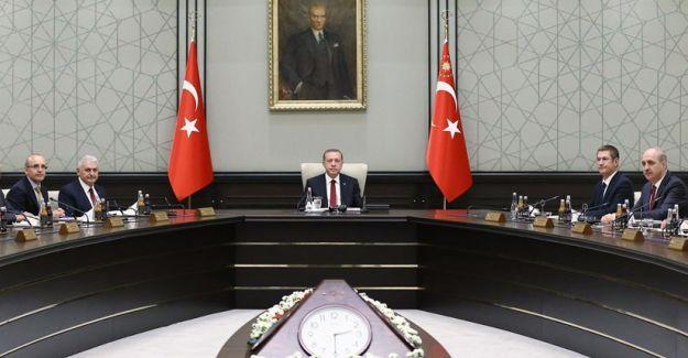 Bakanlar Kurulu, Cumhurbaşkanı Erdoğan başkanlığında başladı