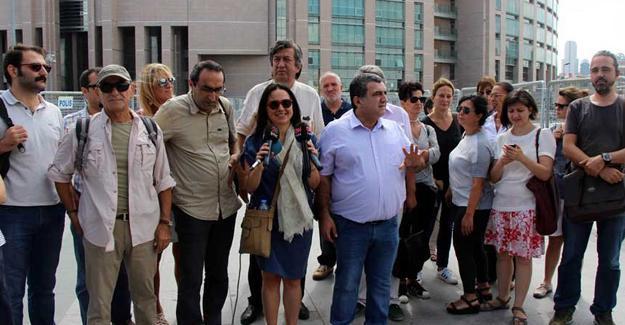 Çağlayan'da Bülent Mumay'a destek açıklaması