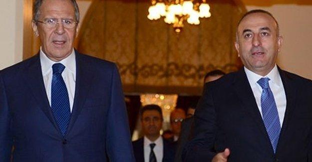 Çavuşoğlu ve Lavrov Rusya'da görüştü; Kremlin'den açıklama