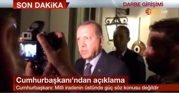 Cumhurbaşkanı Erdoğan: Darbeciler başarılı olamayacak