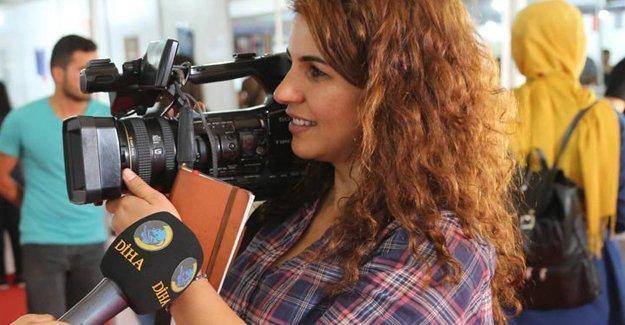 DİHA muhabiri Şerife Oruç tutuklandı