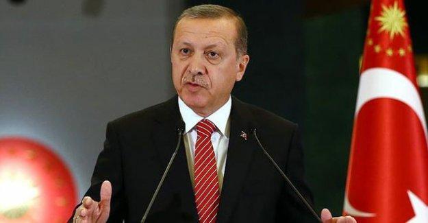 Erdoğan: Bu süreçte 'bekle gör' tavrı içinde olanları da not ettik