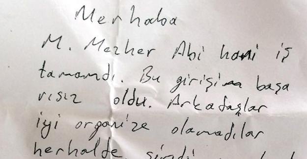 Gülen'in cezaevindeki yeğenine not: Hani iş tamamdı?