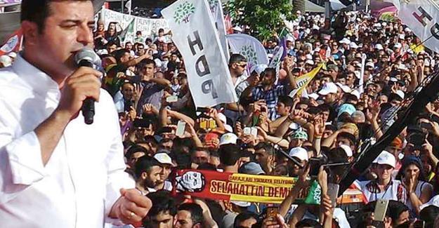 HDP ve DBP 'Darbeye hayır demokrasi hemen şimdi' diyecek
