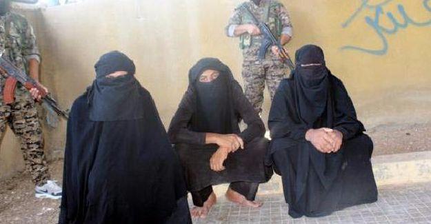 Minbic'te 123 sivil kurtarıldı, kara çarşafla kaçan 3 IŞİD'li yakalandı