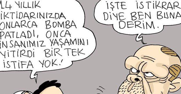 Sefer Selvi AKP'nin 'istikrar'ını çizdi