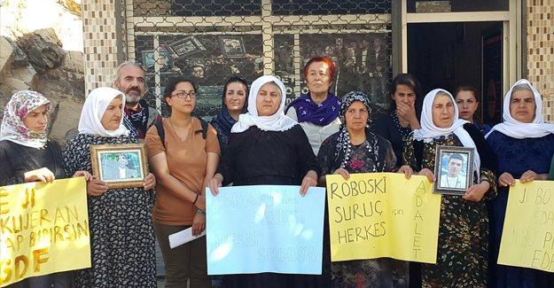 SGDF aktivistleri Roboski aileleriyle adalet mesajı verdi