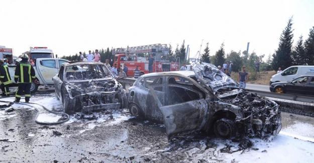 TEM'de zincirleme kaza: 7 yaralı