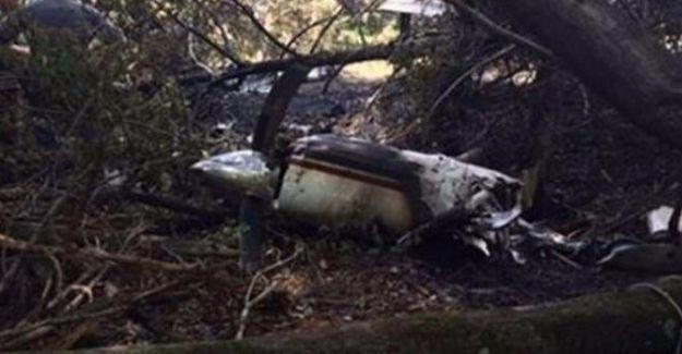 ABD'de uçak düştü: 6 kişi hayatını kaybetti