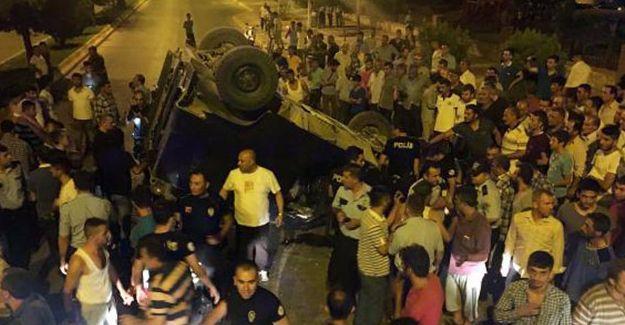 'Akrep' kaza yaptı: 1 polis hayatını kaybetti