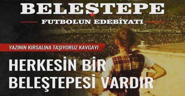 Beşiktaş taraftarından 'Beleştepe Futbolun Edebiyatı' dergisi