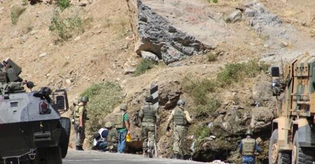 Dağlıca bölgesinde patlama: 1 asker yaralı