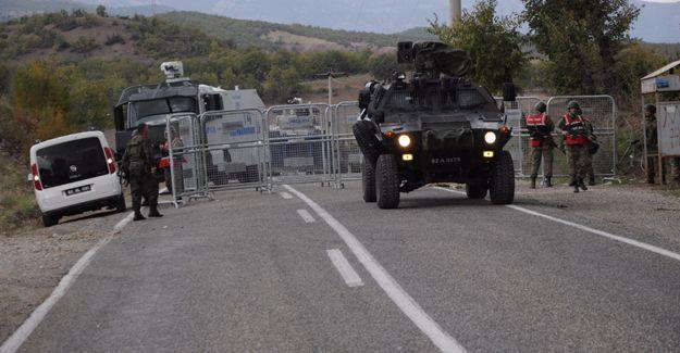 Dersim-Pülümür yolu trafiğe kapatıldı