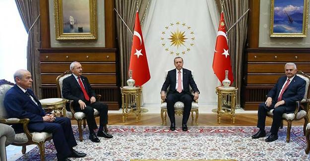 Erdoğan'dan HDP dışındaki 3 siyasi parti liderine Yenikapı mitingi daveti