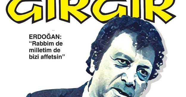 Gırgır'dan Erdoğan Kapağı