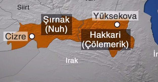 HDP'lilerden Şırnak ve Hakkari tepkisi