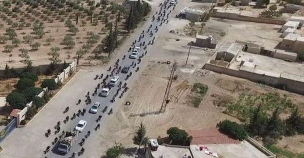 IŞİD'in Minbic'te sivilleri canlı kalkan olarak kullandığı fotoğraflar yayımlandı