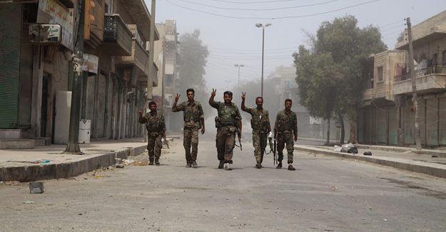 IŞİD işgalindeki Minbic kenti tamamen kurtarıldı
