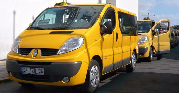 İstanbul'da servis, taksi, minibüs, dolmuş ücretleri arttı