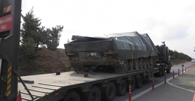 İstanbul'daki tanklar Antep'e taşınıyor