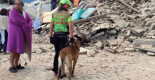 İtalya'daki depremde hayatını kaybedenlerin sayısı 247'ye yükseldi