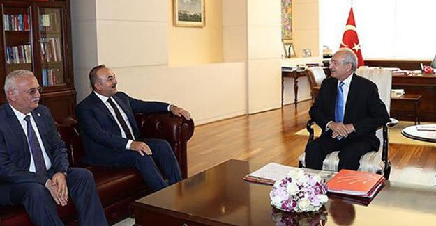Kılıçdaroğlu ile görüşen Çavuşoğlu'ndan açıklama