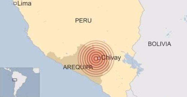 Peru'da 5,4 büyüklüğünde deprem: En az 7 kişi yaşamını yitirdi