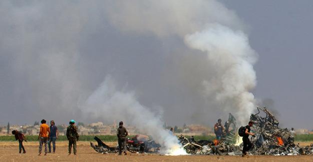 Rus helikopteri düşürüldü: 5 ölü