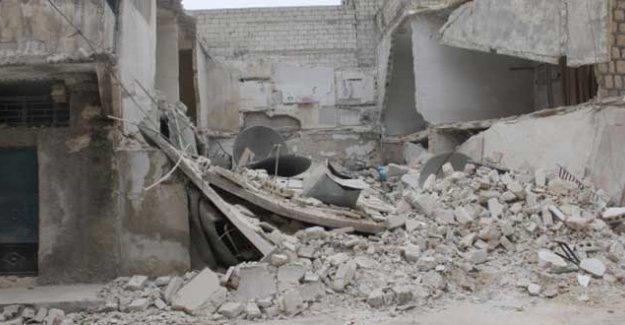 SUK, Halep'te Kürt mahallesine yine saldırdı