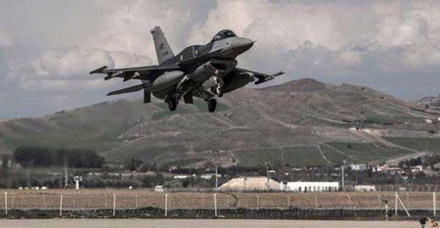 TSK'den PKK'ye hava saldırısı