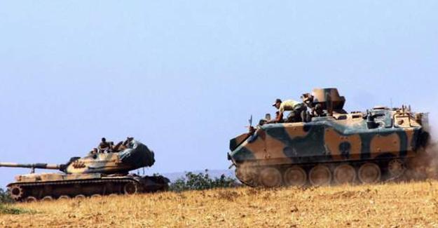 Türkiye tankları Suriye sınırını geçmeye başladı