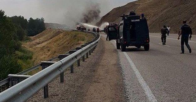 Van'da askeri araca saldırı: 1 kişi hayatını kaybetti, 5 asker yaralandı