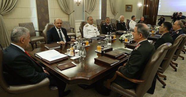 Yüksek Askeri Şûra toplantısı yarın yapılacak