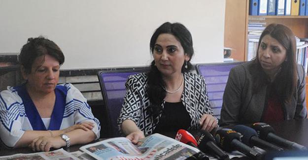 Yüksekdağ: Özgür Gündem sadece gazete değil, başlı başına bir güçtür