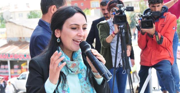 """Yüksekdağ'ın """"Sırtımızı YPG'ye, YPJ'ye ve PYD'ye yaslıyoruz"""" açıklamasına hapis istemi"""