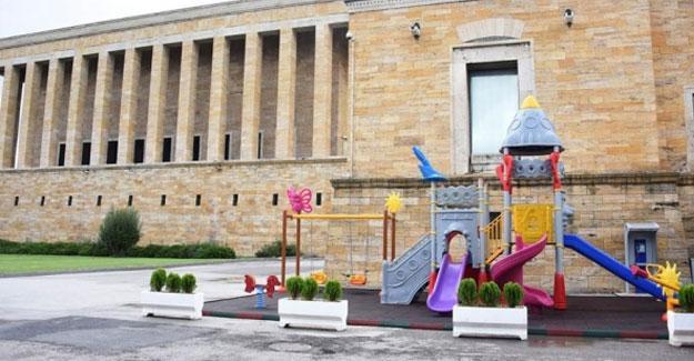 Anıtkabir'e çocuk parkı yapıldı