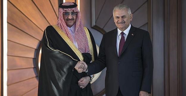 Başbakan Yıldırım: Terörle mücadelede Suudi Arabistan ile işbirliği artacak