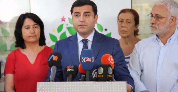 Demirtaş'tan Başbakan ve İçişleri Bakanı'na yanıt