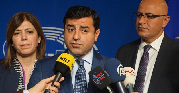 Demirtaş'tan Avrupa Parlamentosu'na 'resmi inisiyatif' çağrısı