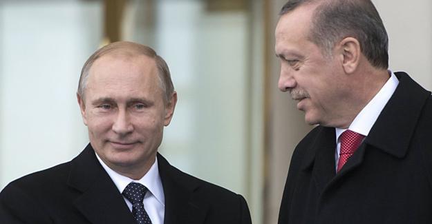 Erdoğan ve Putin'den Suriye görüşmesi