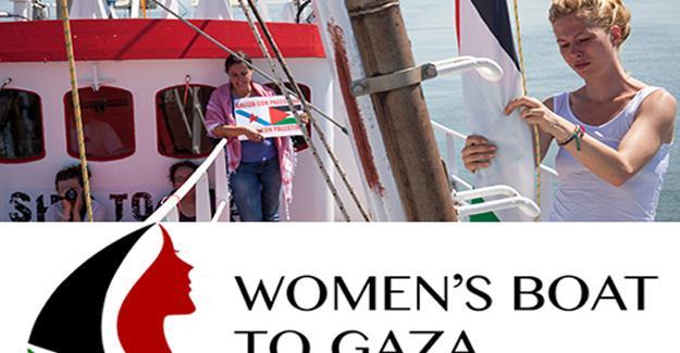 """""""Gazze'ye Kadın Gemisi"""" yola çıkıyor"""