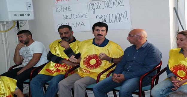 HDP Dersim Milletvekili'nden Eğitim-Sen Elazığ şubesine destek ziyareti