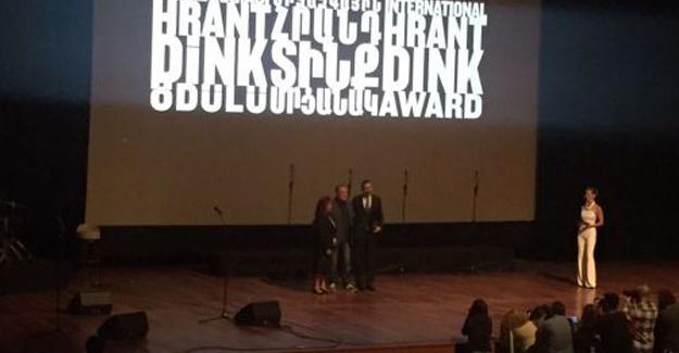 Hrant Dink Ödülü Diyarbakır Barosu'na verildi