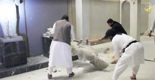 IŞİD'in zarar verdiği tarihi eserler 'canlandı'