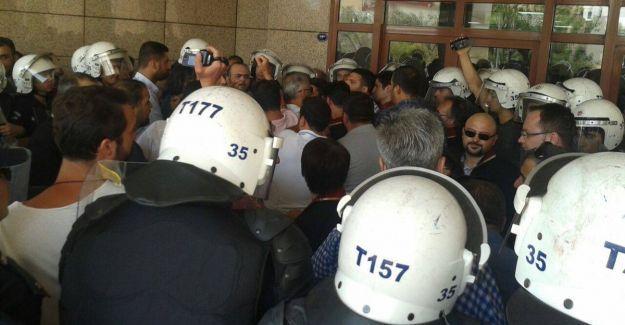 İzmir'de ÇHD'li avukatlara saldırı ve gözaltı
